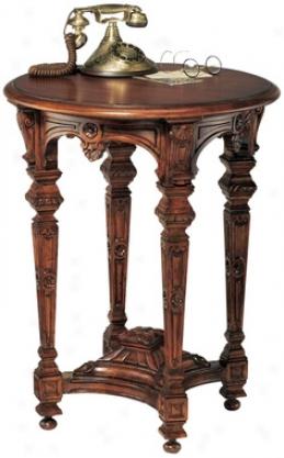 Louis Xiv Mahogny Side Table