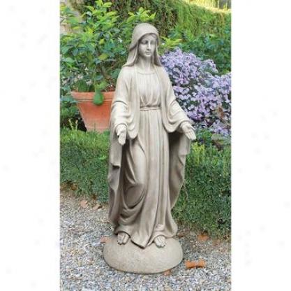 Madonna Of Notre Dame Garden Statue