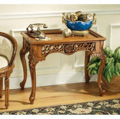 Mallory Court Filigree Console Table