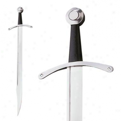 Medieval Falchion Sword: Unsharpened