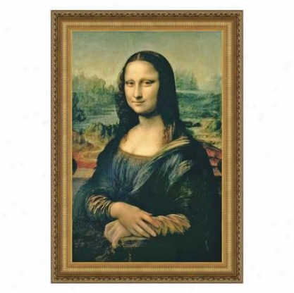 Mona Lisa, 1503-1506 Canvas Replica Painting: Small