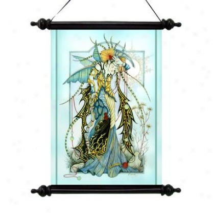 Moonstones The Enchantrwss Canvas Wall Scroll Tapestry