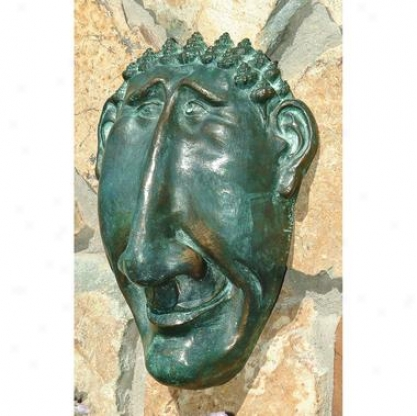 Mr. Seaside Solid Bronze Wall Palque