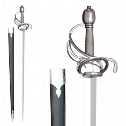 Munich Town Guard Sword: Unsharpened