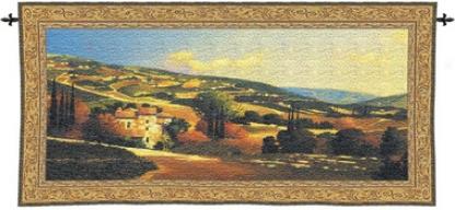 My Villa In Tuscany Wall Tapestry
