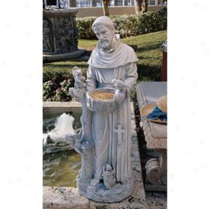 Ntaure's Nurturer: St. Francis Sculpture