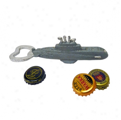 Nautilus Submarine Cast Iron Bottle Opener