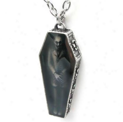 Nosferatu's Rest Gothic Vapmire Pendant By Alchemy Jewelry