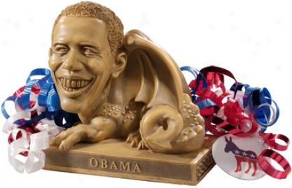 Obama Dragon Election Year Campaign Collectible Sculpture