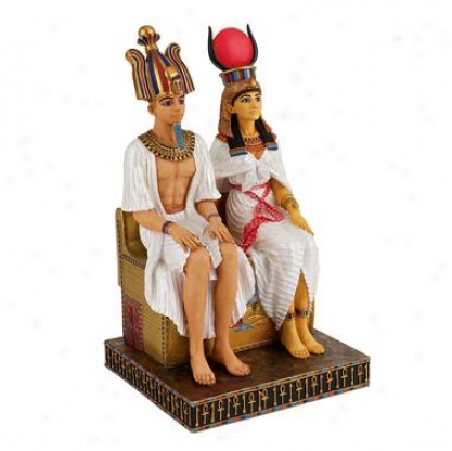 Osiris And Isis: Confederacy Beyond Death Egyptian Statue