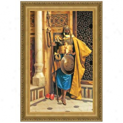 """""""""""""""palace Guard"""""""" By Ludwig Deutsch (1855 1935), In A Private Accumulation"""""""