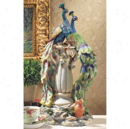 Peacocks In Paradiwe Statue