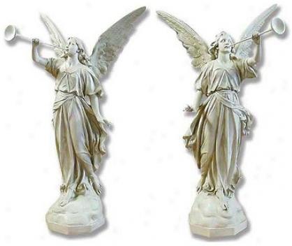 Pescara Announcement Angels Religious Statue: Set