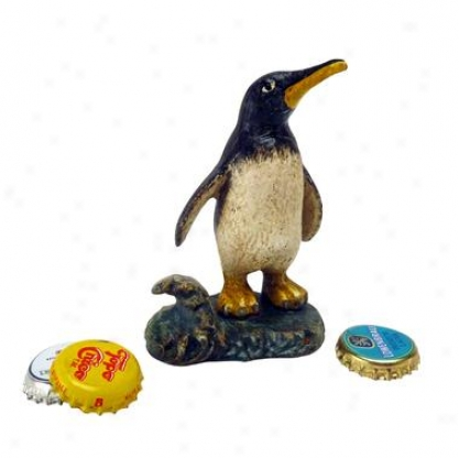Polar Penguin Cast Iron Bottle Opener