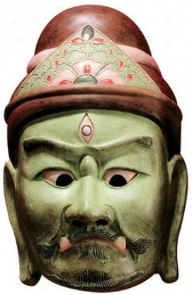 Processional Masks Of The Devas: Jizaiten