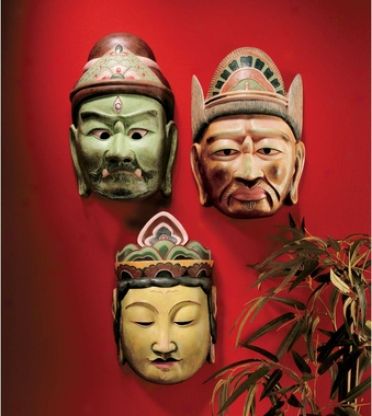 Processional Masks Of The Devas: Set