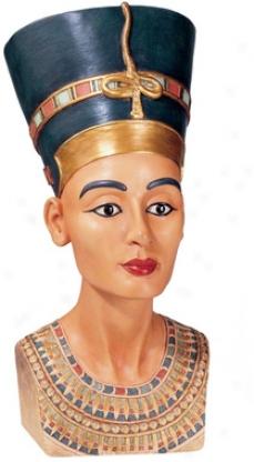 Queen Nefertiti Sculpture: Large