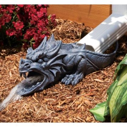 Ranier, The Sculptural Dragon Rainspout