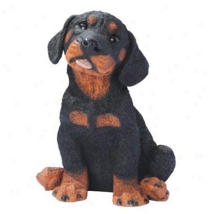 Rotweiler Fop Dog Statue