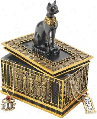 Royal Bastet Egyptian Box