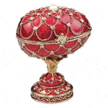 Royal Palace Faberge-style Enameled Eggs: Gatchina