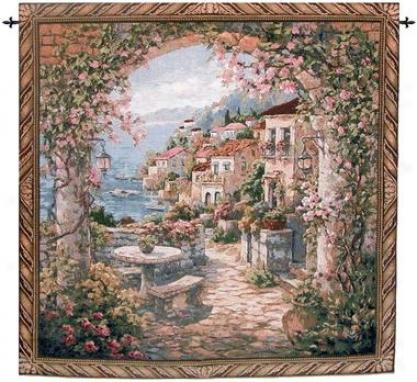 Seaview Hideaway Ii Landsxape Wakl Tapestry