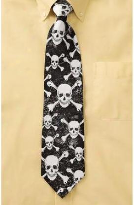 Skullduggery 100% Silk Tie