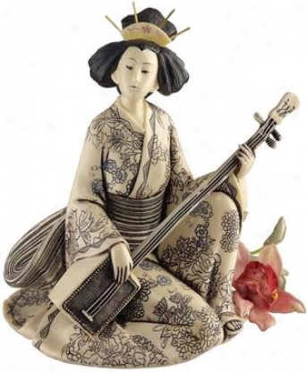 Song Of The Geisha Statuary