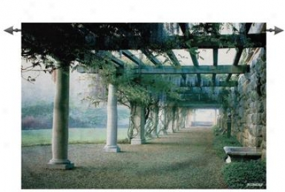 South Plateau Pergola Grand Wall Tapestry