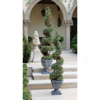 Spiral Ornamental Tree Collection: Large