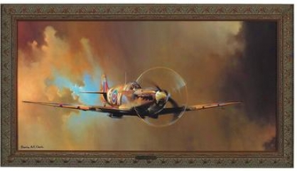 Spitfire Canvas Replica Painting: Medium