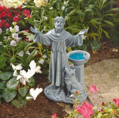 St. Francis's Garden Blessing Sculpture