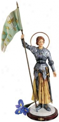 St. Joan Of Arc Sculpture