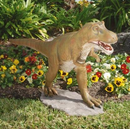 T-rex Dinosaur Garden Sculpture