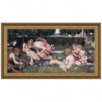 The Arousing Of Adonis, 1900: Canvas Replica Painting: Small