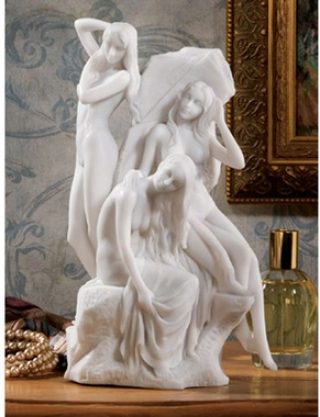 The Bathers Bonded Marble Statue