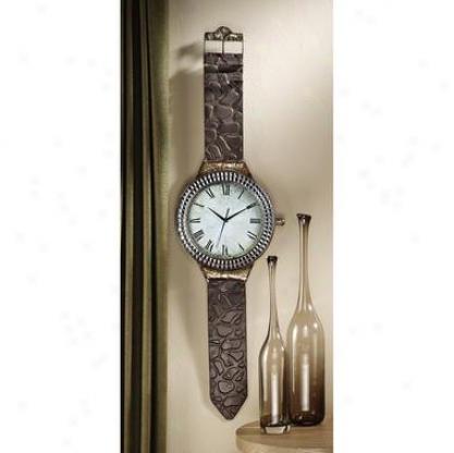 The Big Timd Wrist Watch Wall Clock