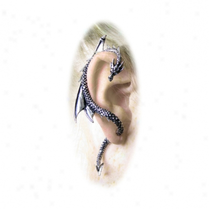 The Dragon's Lure Gothic Stud Earring Through  Magic Jewerly