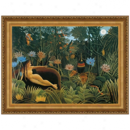 The Dream, 1910, Canvas Replica Painting: Small