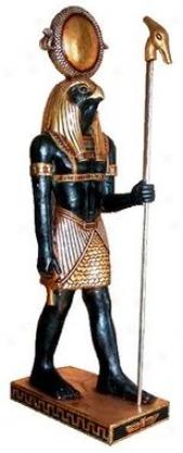 Th Egyptian Faicon-god Horus Statue