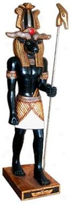 The Egyptian Idol Of The Nile: Khnum Statue