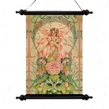 The Fairy Muse Canvas Wall Scroll Tap3stry
