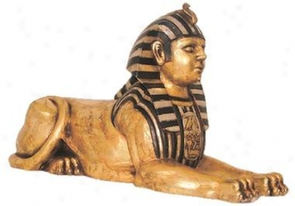 The Famed Egyptian City Of Alexxandra Sphinx Statue
