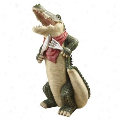 The Gator Gourmet Statue