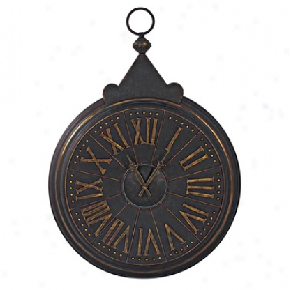 The Minister Of Time Pocket Watch Wall Clock