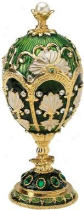 The Petroika Collection: Larissa Fabege Style Enameled Egg