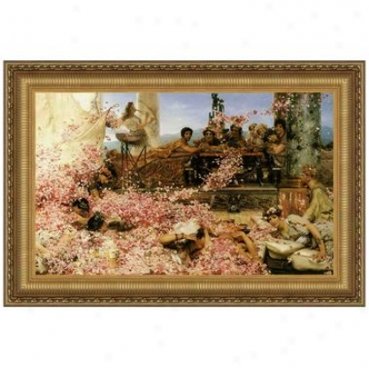 The Roses Of Heliogabalus, 1888, Canvas Replica Painting: Small