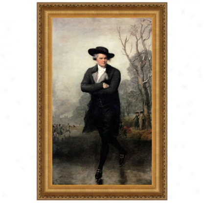The Skater, 1782 Canvas Rellica Painting: Small