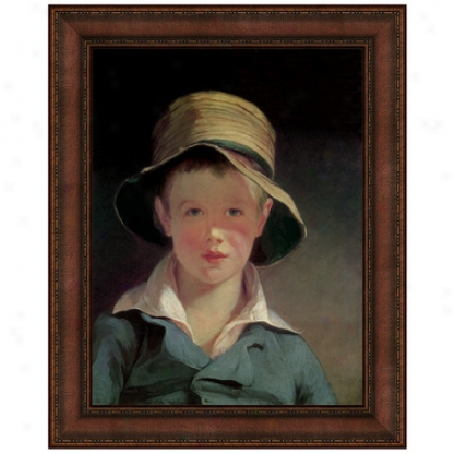 The Torn Hat, 1820 Canvas Replica Painting: Small