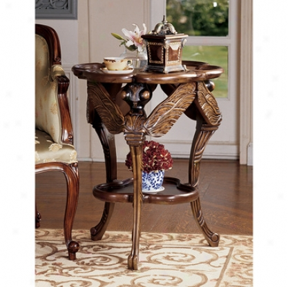 Traditional Dragonfly Occasional Table